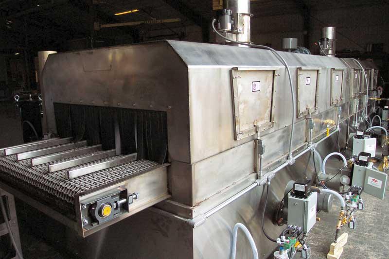 Multiple Stage Conveyor Parts Washer Industrial Conveyor